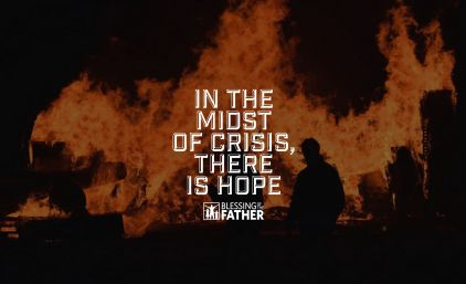 In The Midst Of Crisis, There Is Hope