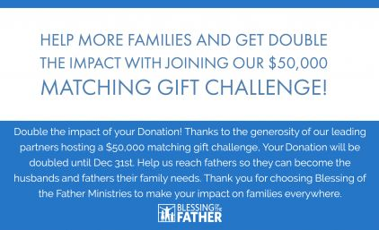 Double your Donation to Help Families